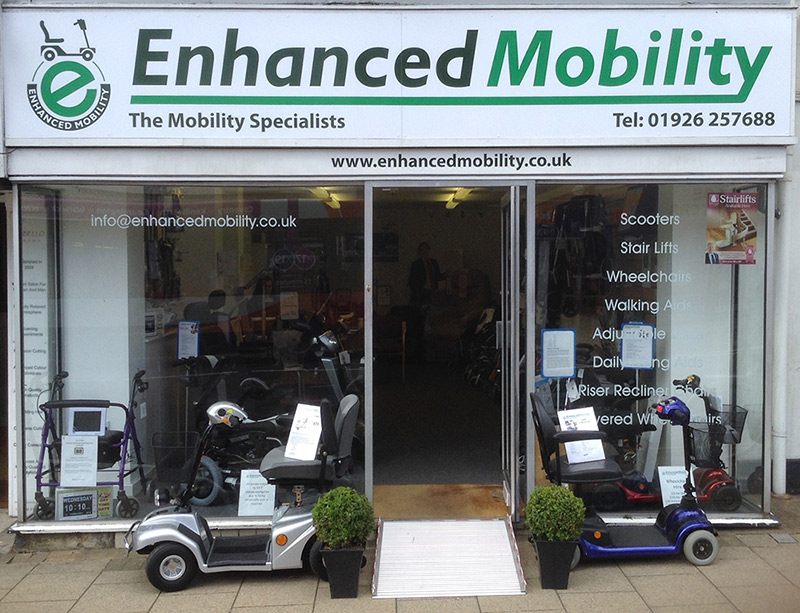 Enhanced Mobility shop front