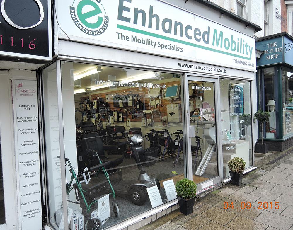 Enhanced Mobility shop front